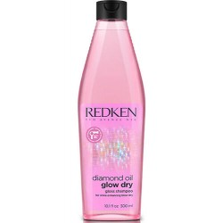 Redken Diamond Oil Glow Dry Champú (300ml)
