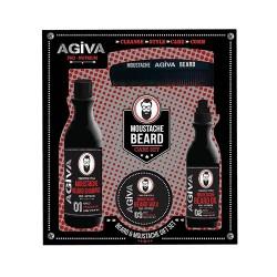 Agiva Beard & Moustache Gift Set