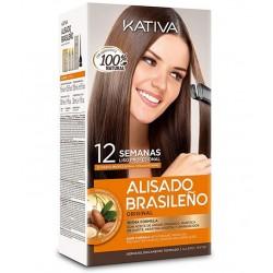 Kativa Keratina & Argan Oil Kit Alisado Brasileño