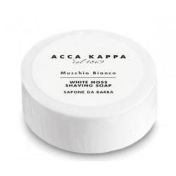 Acca Kappa Jabón de Afeitar Musgo Blanco Pastilla (100g)