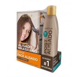 Kativa Keratina Kit Alisado Brasileño + Shampoo Post Alisado