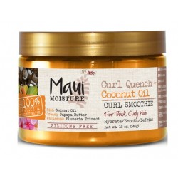 Maui Moisture Curl Quench+ Coconut Oil Curl Smoothie (340gr)