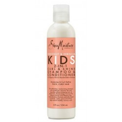 Shea Moisture Kids 2 in 1 Curl &Shine Shampoo & Conditioner (236ml)