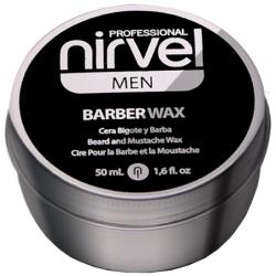 Nirvel Men Barber Cera para Barba y Bigote (50ml)