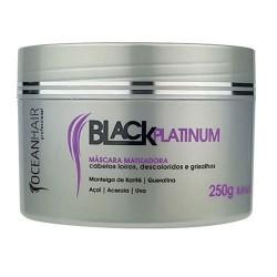 Ocean Hair Black Platinum  Mascarilla Matizadora
