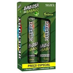 Skafe Kit Regefort Babosa do Babado Aloe Vera (2x300ml)
