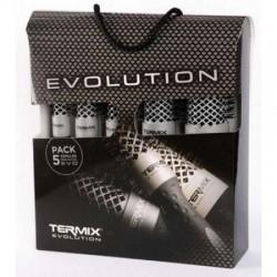 Termix Pack Profesional 5 cepillos Evolution Plus /Cabello grueso