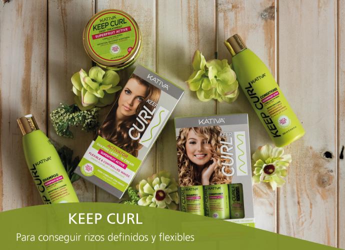 Kativa Keep Curl. Para rizos definidos y flexibles