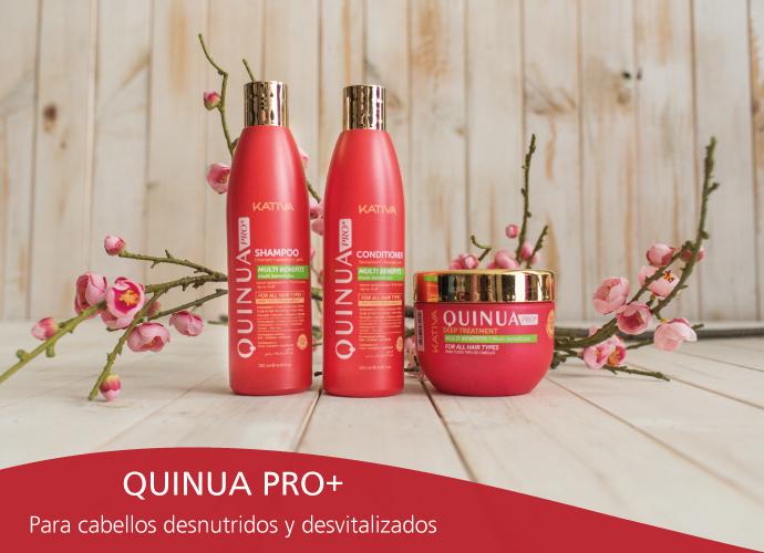 Kativa Quinua. Para cabellos desnutridos y sin vida